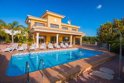 Gemütliches Ferienhaus : Region Costa-Blanca für 12 Personen