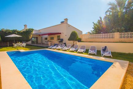Gemütliches Ferienhaus : Region Costa-Blanca für 14 Personen