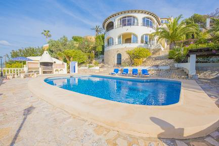 Gemütliches Ferienhaus : Region Costa-Blanca für 10 Personen