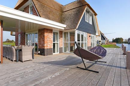 Gemütliches Ferienhaus : Region Ijsselmeer für 10 Personen