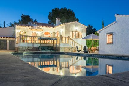 Gemütliches Ferienhaus : Region Costa-Blanca für 4 Personen