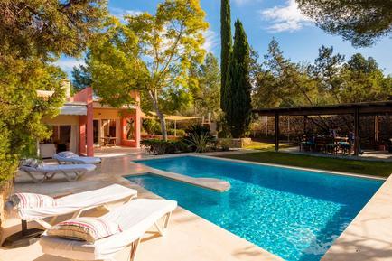 Gemütliches Ferienhaus : Region Ibiza für 5 Personen