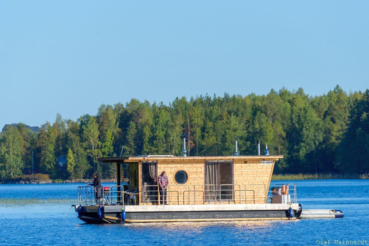 Hausboot/ Schiff für 4 Personen ca. 21 m² Boot
