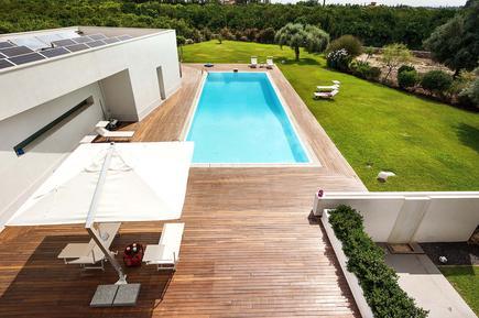 Gemütliches Ferienhaus : Region Sizilien für 15 Personen
