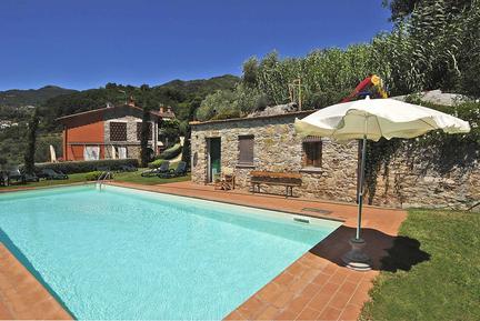 Für 4 Personen: Hübsches Apartment / Ferienwohnung in der Region Borgo a Mozzano