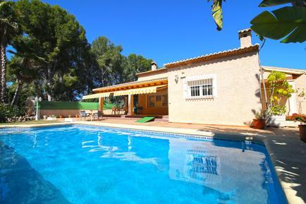 Gemütliches Ferienhaus : Region Costa-Blanca für 7 Personen