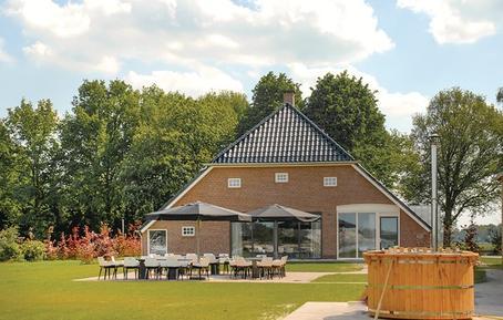 Gemütliches Ferienhaus : Region Drenthe für 30 Personen