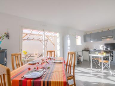 Gemütliches Ferienhaus : Region Arcachon für 4 Personen
