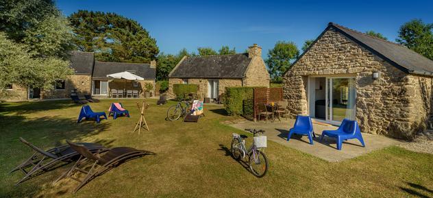 Gemütliches Ferienhaus : Region Bretagne für 12 Personen