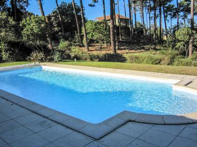 Gemütliches Ferienhaus : Region Lacanau für 8 Personen