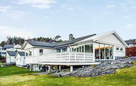 Gemütliches Ferienhaus : Region Hordaland für 11 Personen