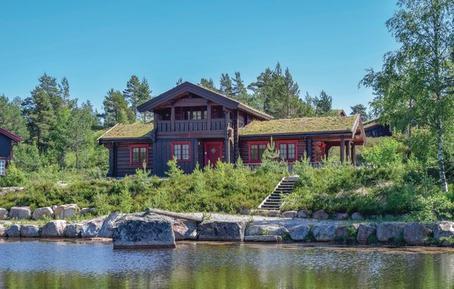 Gemütliches Ferienhaus : Region Gebirgsnorwegen für 9 Personen