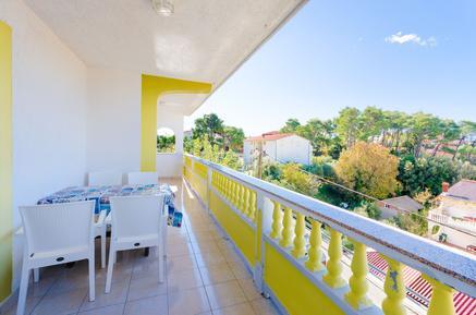 Für 6 Personen: Hübsches Apartment / Ferienwohnung in der Region Rab