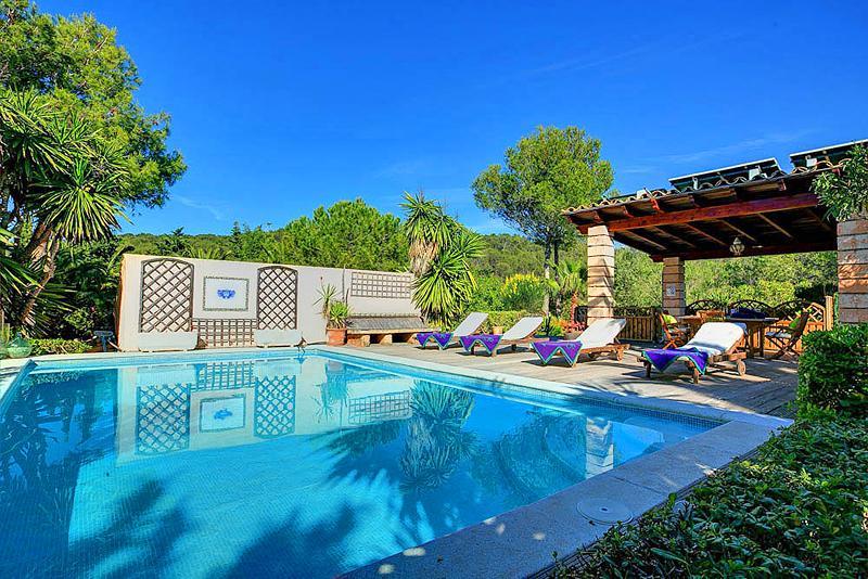 Ferienhaus mit Privatpool für 4 Personen in Llucmajor Mallorca Südküste von Mallorca