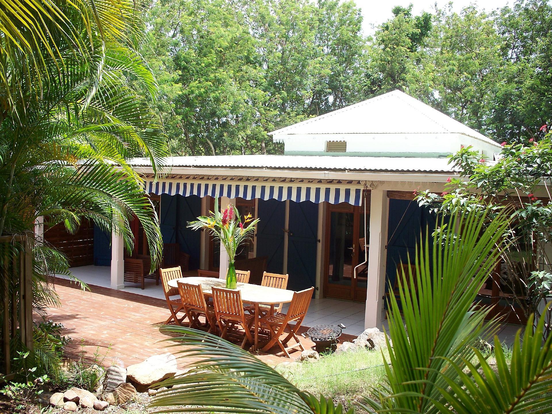 Ferienhaus für 4 Personen  + 3 Kinder ca. 120  in Guadeloupe