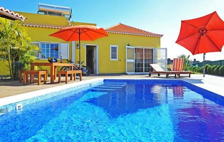 Gemütliches Ferienhaus : Region La Palma für 6 Personen