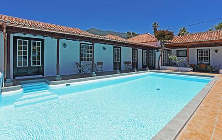 Gemütliches Ferienhaus : Region La Palma für 8 Personen