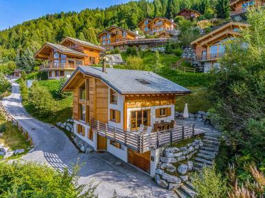 Gemütliches Ferienhaus : Region Nendaz für 10 Personen