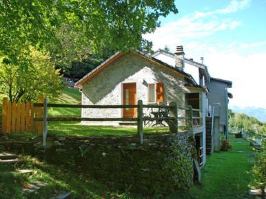 Gemütliches Ferienhaus : Region Tessin für 2 Personen