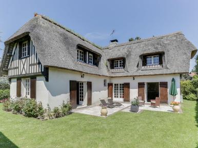Gemütliches Ferienhaus : Region Deauville für 8 Personen
