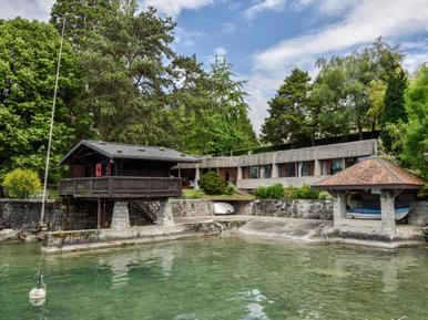 Gemütliches Ferienhaus : Region Genfersee für 7 Personen