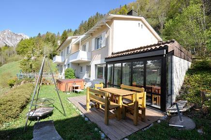Gemütliches Ferienhaus : Region Zentralschweiz für 6 Personen