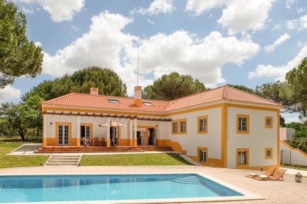 Gemütliches Ferienhaus : Region Costa do Alentejo für 8 Personen
