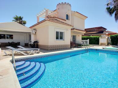 Gemütliches Ferienhaus : Region Costa-Calida für 8 Personen