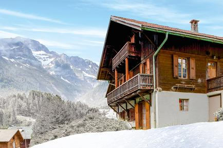 Gemütliches Ferienhaus : Region Wallis für 15 Personen