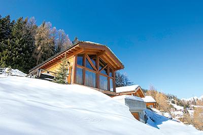 Gemütliches Ferienhaus : Region Wallis für 10 Personen