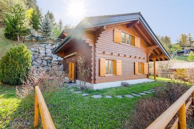 Gemütliches Ferienhaus : Region Wallis für 7 Personen