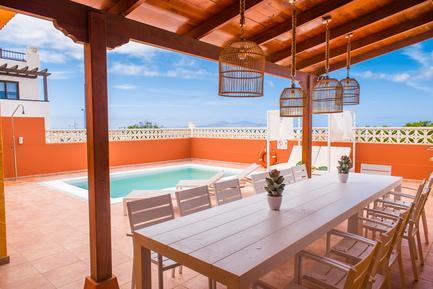 Gemütliches Ferienhaus : Region Corralejo für 14 Personen