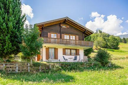 Gemütliches Ferienhaus : Region Wallis für 6 Personen