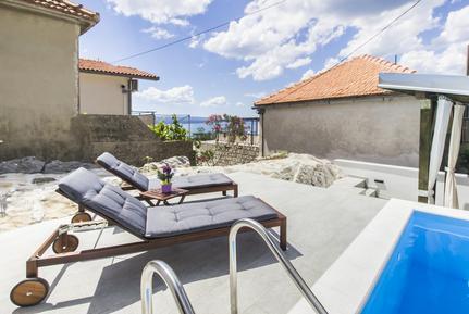 Gemütliches Ferienhaus : Region Brela für 6 Personen