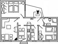 Apartamento 1422714 para 4 personas en Wittdün