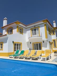 Gemütliches Ferienhaus : Region Costa de Lisboa für 9 Personen