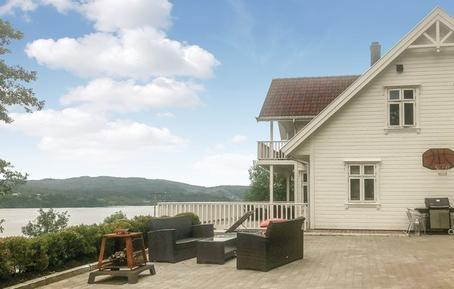 Gemütliches Ferienhaus : Region Hordaland für 9 Personen