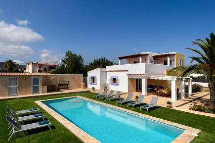 Gemütliches Ferienhaus : Region Ibiza für 11 Personen