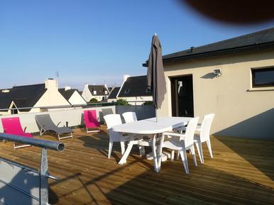Für 4 Personen: Hübsches Apartment / Ferienwohnung in der Region Roscoff
