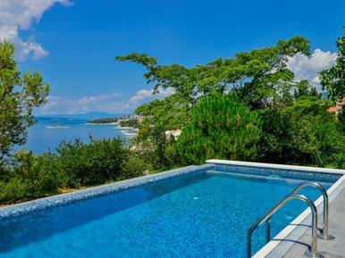 Für 10 Personen: Hübsches Apartment / Ferienwohnung in der Region Kvarner Bucht