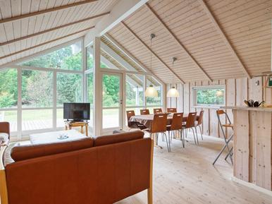 Gemütliches Ferienhaus : Region Seeland für 10 Personen