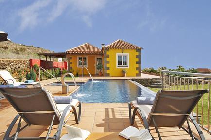 Gemütliches Ferienhaus : Region La Palma für 7 Personen