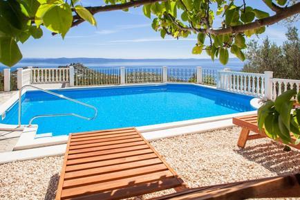 Gemütliches Ferienhaus : Region Makarska Riviera für 4 Personen