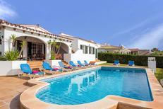 Casa de vacaciones 1436881 para 8 personas en Binibèquer