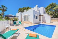 Villa 1436997 per 9 persone in Cala d'Or