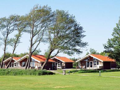 Gemütliches Ferienhaus : Region Skaerbaek für 6 Personen