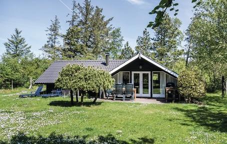 Gemütliches Ferienhaus : Region Mitteljütland für 6 Personen