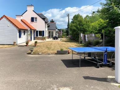Gemütliches Ferienhaus : Region Trégastel für 7 Personen