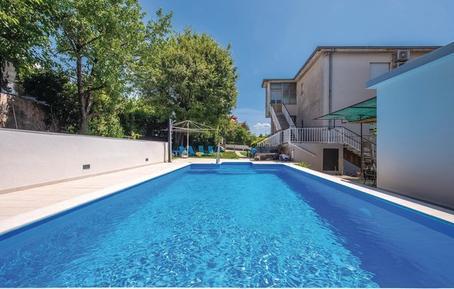 Für 8 Personen: Hübsches Apartment / Ferienwohnung in der Region Kvarner Bucht