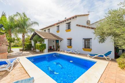 Gemütliches Ferienhaus : Region Costa-del-Sol für 10 Personen